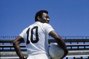 Pelé, ícone da camisa 10!
