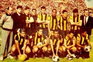 Estrelado time do Peñarol em 1966.
