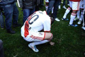Único rebixamento da história do River Plate.