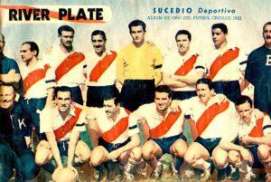 Time do River Plate multicampeão da década de 1950.