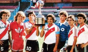 Primeira conquista da Libertadores.