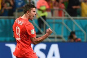 Robin van Persie é o maior artilheiro da seleção holandesa.