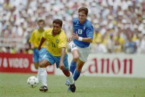Romário na final da Copa de 1994.