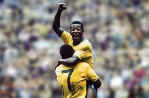 Seleção Brasileira de Futebol conquista o tri em 1970.