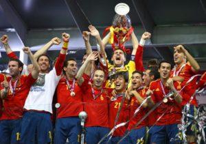 Seleção Espanhola de Futebolmaior vencedora da Eurocopa.