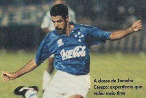 Breve passagem pelo rival do Atlético, o Cruzeiro.