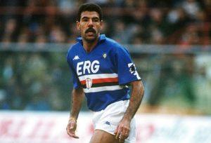 Toninho Cerezo fez história com a camisa da Sampdoria.