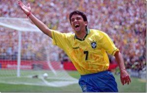 Bebeto campeão mundial de 1994.