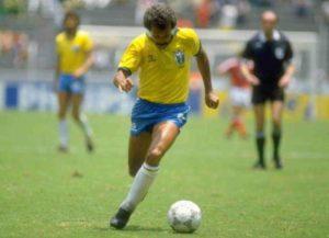 Participação na Copa do Mundo de 1986.