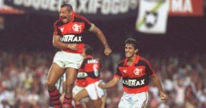Maestro Júnior: o regente do time do Flamengo.