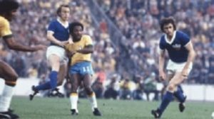 Atuação apagada na Copa do Mundo de 1974.