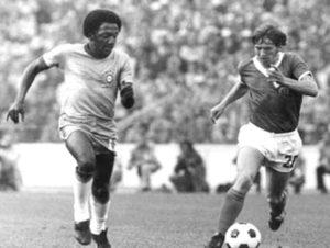 Paulo Cézar Caju na seleção brasileira.