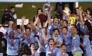 Seleção Uruguaia de Futebol: campeã da Copa América de 2011.