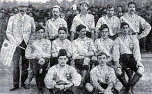 Seleção Uruguaia de Futebol em seus primeiros anos.