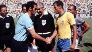 Derrota para o Brasil na Copa do Mundo de 1970.