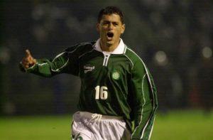 Arce: um dos maiores jogadores estrangeiros de Palmeiras e Grêmio.