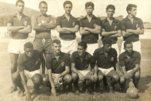 César Maluco no elenco do Flamengo.