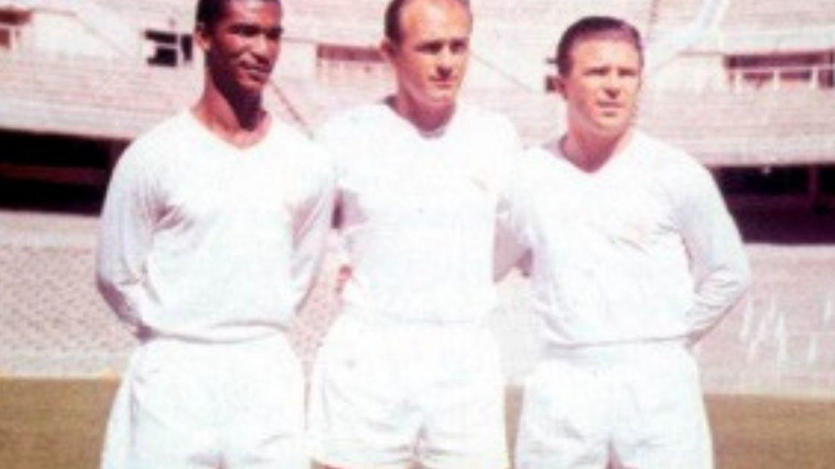 Didi no lendário Real Madrid.
