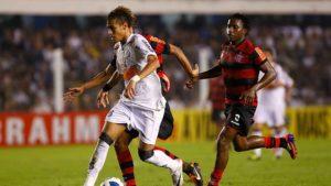 Gol de Neymar que valeu prêmio Puskas.