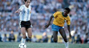 Paulo Isidoro na seleção brasileira.
