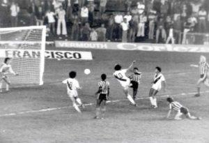 Um dos gols