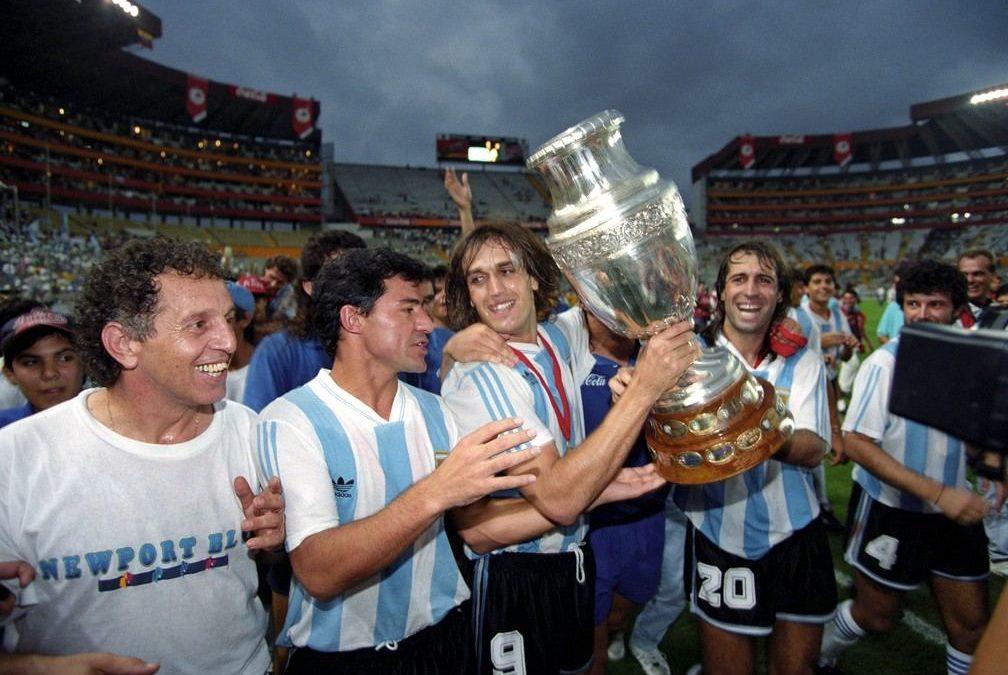 Argentina levanta sua ultima taça em 1993.