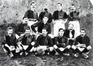 Clube em seu ano de fundação, 1899.