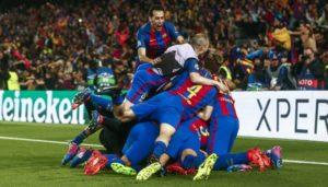 Barcelona time de história e futebol bonito.