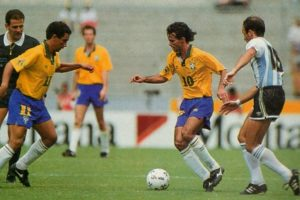 Brasil e Argentina em 1993.