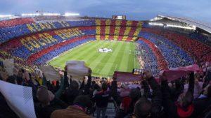 Estádio Camp Nou.