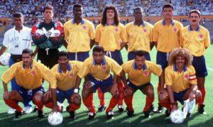 Seleção da Colômbia em 1993.