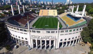 Pacaembú: um dos palcos mais icônicos do futebol brasileiro.