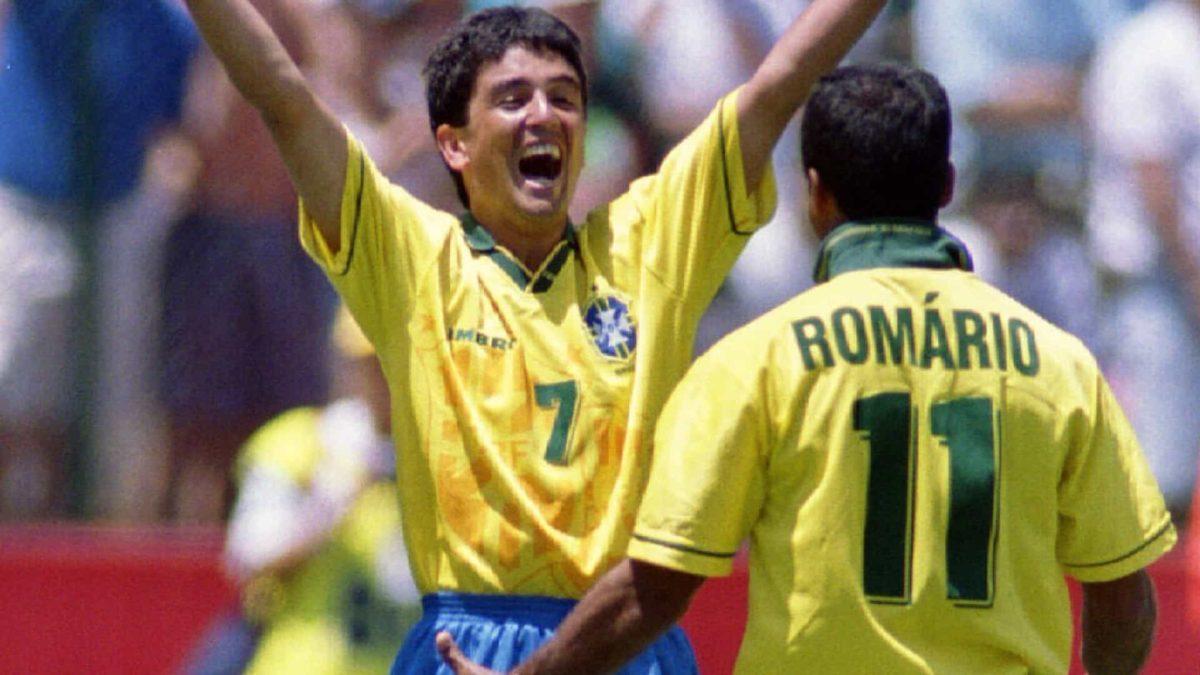 Bebeto e Romário: uma das duplas mais icônicos da história do futebol.