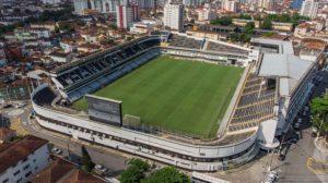 Vila Belmiro: um dos mais históricos estádios do Brasil.