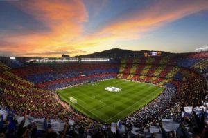 Camp Nou: símbolo de resistência da Cataluña.