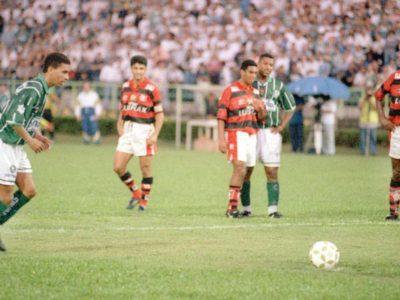 Quando Djalminha introduziu a cavadinha no Brasil!
