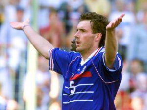 Laurent Blanc: ídolo da seleção francesa.