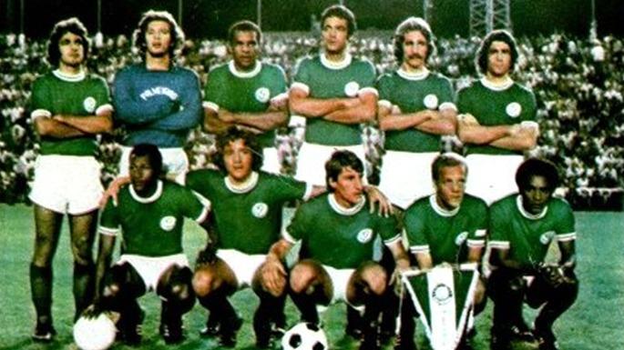Segunda Academia de Futebol do Palmeiras no Ramón Carranza de 1974.