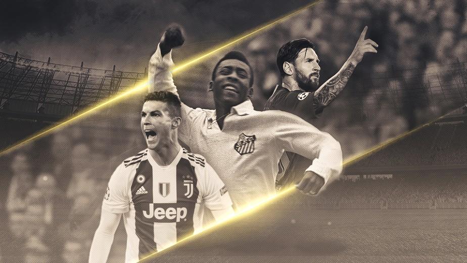 Pelé, Cristiano ou Messi: quem é o maior de todos os tempos?