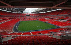 Wembley: grande palco do futebol inglês.