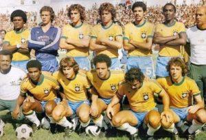 Base da seleção brasileira de 1978.