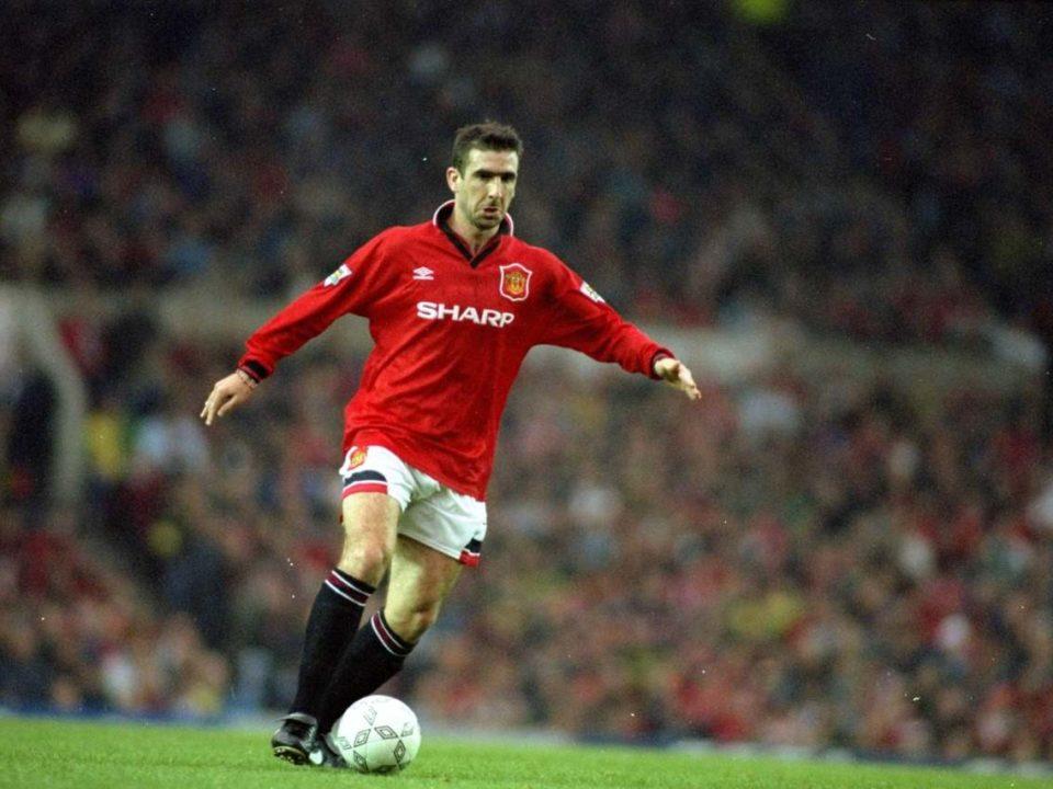 Eric Cantona era um rebelde no futebol.