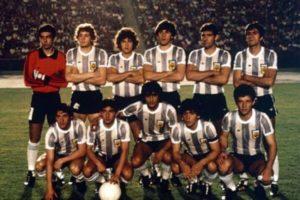 Seleção Argentina em 1979.