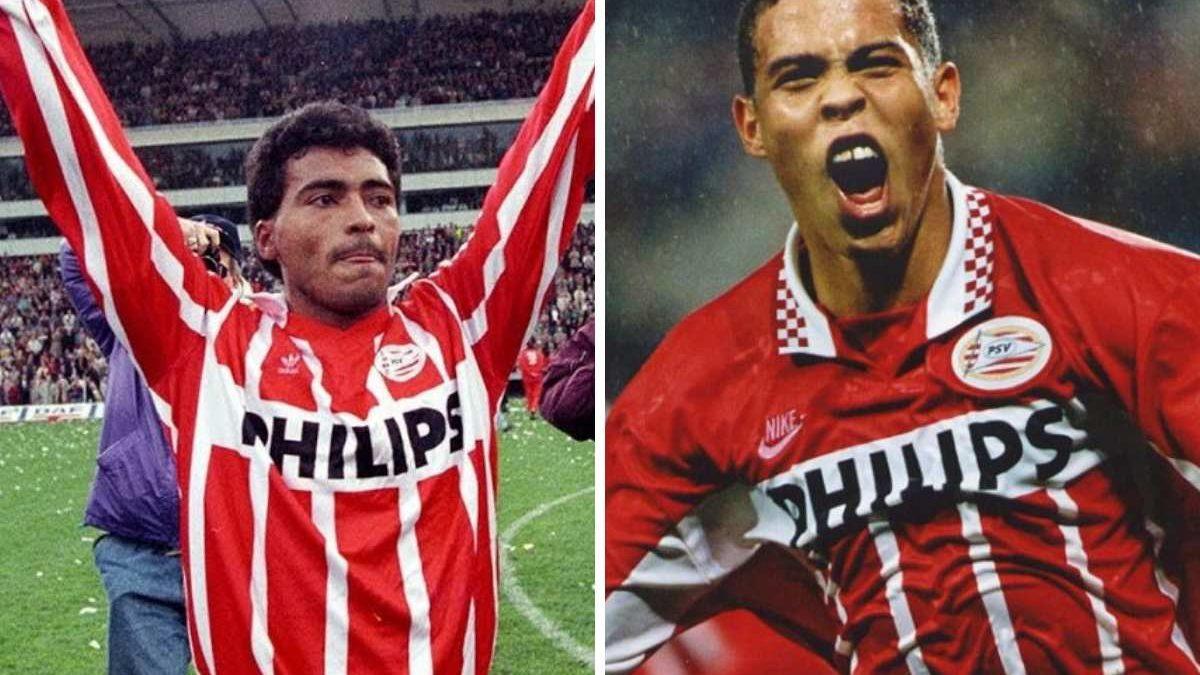 Quem jogou mais no PSV: Romario ou ROnaldo?