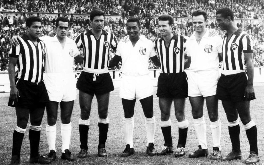 Símbolos do maior Santos e Botafogo da história.