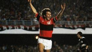 Gol decisivo do Galinho na final da Libertadores de 1981.