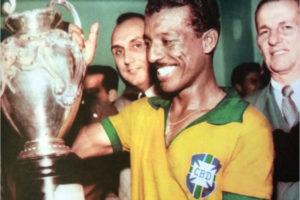Zizinho na seleção brasileira.