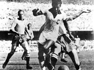 Zizinho na Copa de 1950.