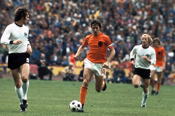 Johan Cruyff grande craque Holandês.
