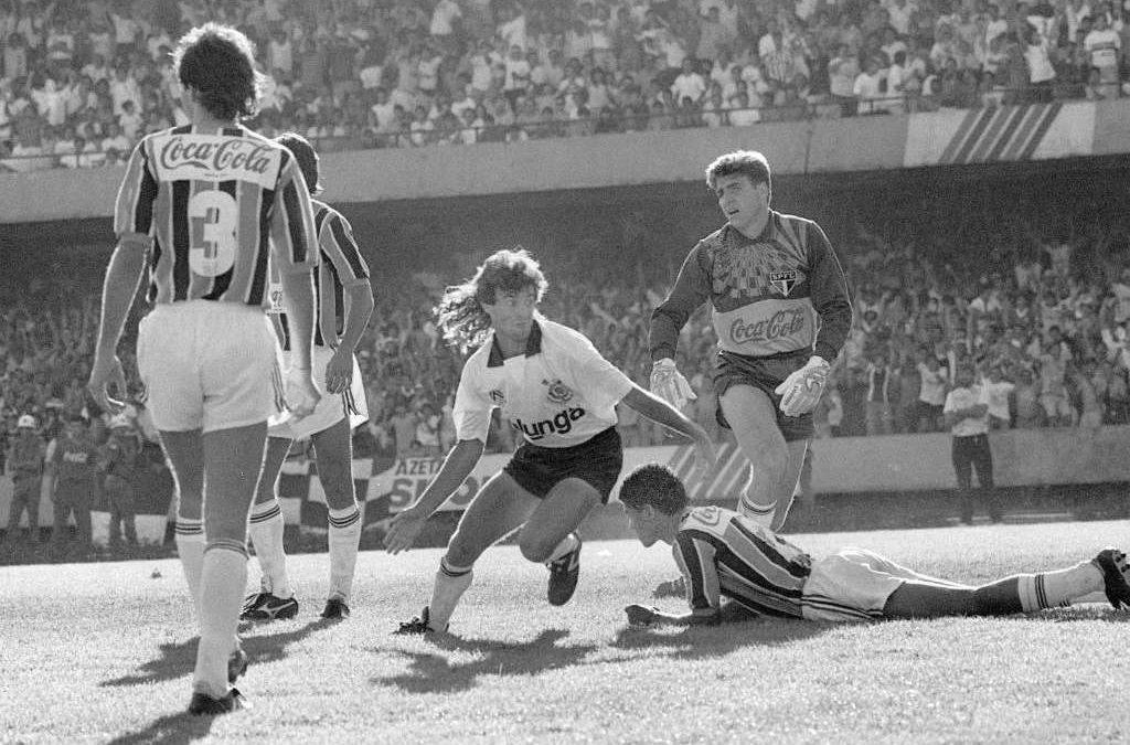 Tupãzinho na final do Brasileiro de 1990.